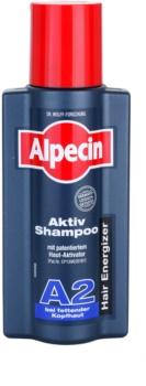 Alpecin Hair Energizer Aktiv Shampoo A2 šampón pre mastné vlasy