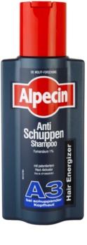 Alpecin Hair Energizer Aktiv Shampoo A3 szampon aktywujący wzrost włosów przeciw łupieżowi