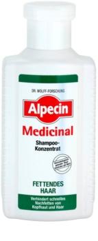 Alpecin Medicinal konzentriertes Shampoo für fettiges Haar und Kopfhaut