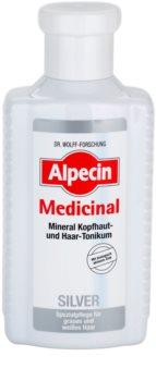 Alpecin Medicinal Silver Hair Tonic for Yellow Tones Neutralization