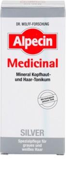 Alpecin Medicinal Silver Haartonic  neutraliseert gele Tinten