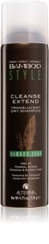 Alterna Bamboo Style shampoing sec sans sulfates ni parabènes