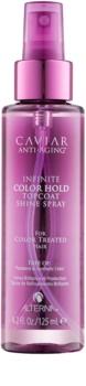 Alterna Caviar Anti-Aging Infinite Color Hold spray per la protezione del colore dei capelli senza parabeni
