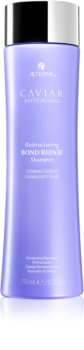 Alterna Caviar Anti-Aging Restructuring Bond Repair shampoing rénovateur pour cheveux affaiblis