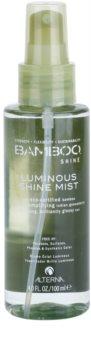 Alterna Bamboo Shine спрей для блиску та шовковистості волосся