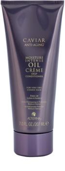 Alterna Caviar Moisture Intense Oil Creme acondicionador hidratante para cabello muy seco y áspero