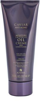 Alterna Caviar Style Moisture Intense Oil Creme hydratačný kondicionér pre veľmi suché a hrubé vlasy