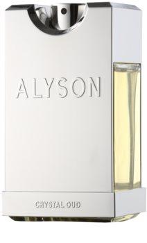 Alyson Oldoini Crystal Oud Eau de Parfum para homens 100 ml