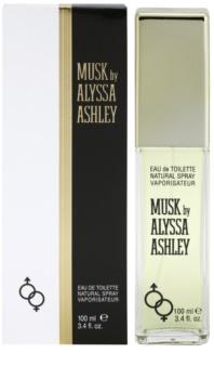 Alyssa Ashley Musk Eau de Toilette unissexo 100 ml