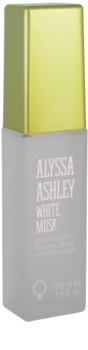 Alyssa Ashley Ashley White Musk Eau de Toilette voor Vrouwen  100 ml