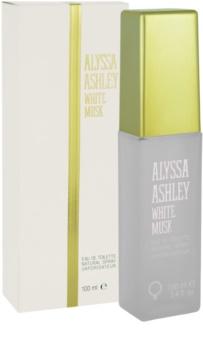 Alyssa Ashley Ashley White Musk Eau de Toilette für Damen 100 ml