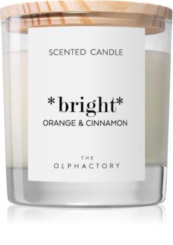 Ambientair Olphactory Orange & Cinnamon dišeča sveča  (Bright)