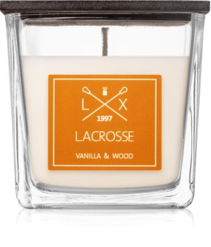 Ambientair Lacrosse Vanilla & Wood dišeča sveča  200 g