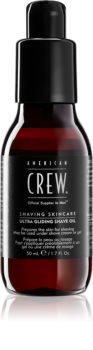 American Crew Shave & Beard Ultra Gliding Shave Oil olio da barba ammorbidente