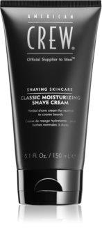 American Crew Shave & Beard Classic Moisturizing Shave Cream gyógynövényes borotválkozó krém
