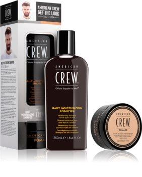 American Crew Get the Look kosmetická sada I. (pro všechny typy vlasů) pro muže