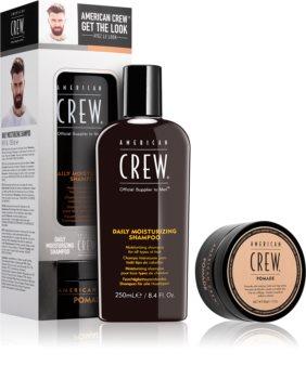 American Crew Get the Look zestaw kosmetyków I. (do wszystkich rodzajów włosów) dla mężczyzn