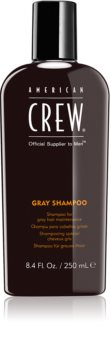 American Crew Hair & Body Gray Shampoo shampoing pour cheveux gris