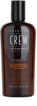 American Crew Trichology champô anticaspa para regulação do sebo cutâneo
