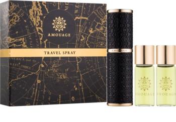 Amouage Memoir Eau De Parfum For Men 3 X 10 Pc 1x Refillable 2x