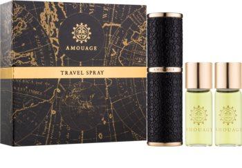 Amouage Memoir parfémovaná voda pro muže 3 x 10 ks (1x plnitelná + 2x náplň)