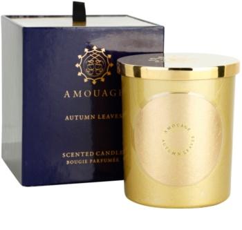 Amouage Autumn Leaves bougie parfumée 195 g