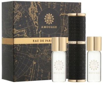 Amouage Dia eau de parfum (1x recargable + 2x recarga) para hombre 3 x 10 ml