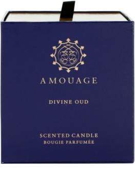 Amouage Divine Oud vela perfumado 195 g