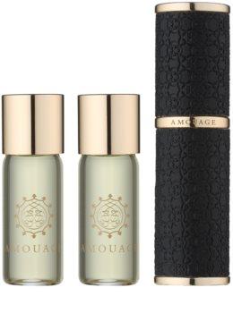 Amouage Epic eau de parfum pentru bărbați 3 x 10 ml (1x reincarcabil + 2x rezerva)