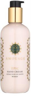 Amouage Epic krém na ruce pro ženy 300 ml