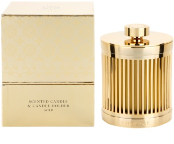 Amouage Gold świeczka zapachowa  195 g + podstawka
