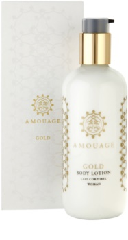 Amouage Gold lotion corps pour femme 300 ml