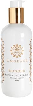Amouage Honour gel de duche para homens 300 ml