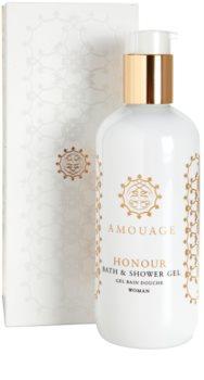Amouage Honour gel doccia per donna 300 ml