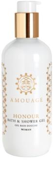 Amouage Honour gel de dus pentru femei 300 ml