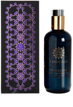 Amouage Interlude gel doccia per uomo 300 ml