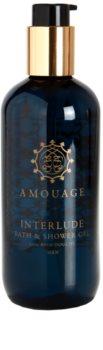 Amouage Interlude gel za prhanje za moške 300 ml