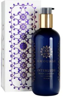 Amouage Interlude telové mlieko pre ženy 300 ml