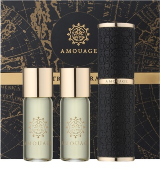 Amouage Jubilation 25 Men eau de parfum (1χ επαναγεμιζόμενο  + 2χ γεμίσεις) για άντρες 3 x 10 μλ