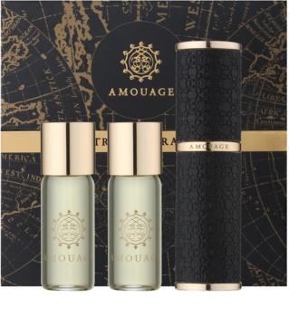 Amouage Jubilation 25 Men eau de parfum (1x rechargeable + 2x recharge) pour homme 3 x 10 ml