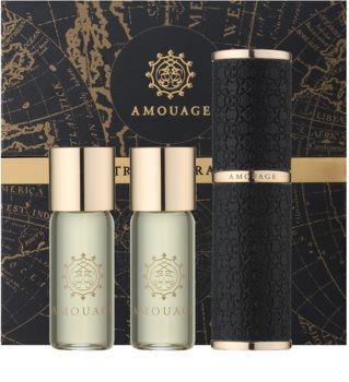 Amouage Jubilation 25 Men eau de parfum (1x refillable + 2x refill) for Men 3 x 10 ml