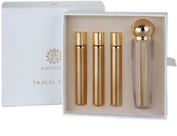 Amouage Jubilation 25 Woman eau de parfum pentru femei 4 x 10 ml (1x reincarcabil + 3x rezerva)