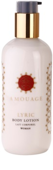 Amouage Lyric tělové mléko pro ženy 300 ml