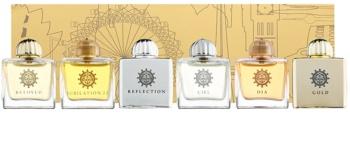 Amouage Miniatures Bottles Collection Women ajándékszett II. Gold, Dia, Ciel, Reflection, Jubilation 25, Beloved