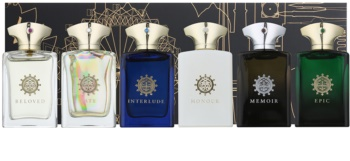 Amouage Miniatures Bottles Collection Men dárková sada III. Lyric, Epic, Memoir, Honour, Interlude, Fate