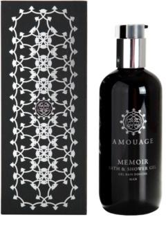 Amouage Memoir gel doccia per uomo 300 ml