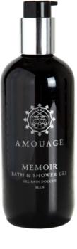 Amouage Memoir gel de dus pentru bărbați 300 ml
