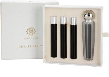 Amouage Memoir Eau de Parfum Damen 4 x 10 ml (1x Nachfüllbar + 3x Nachfüllung)