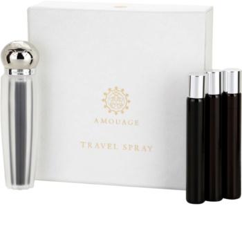 Amouage Memoir woda perfumowana dla kobiet 4 x 10 ml (1x napełnialny + 3x napełnienie)