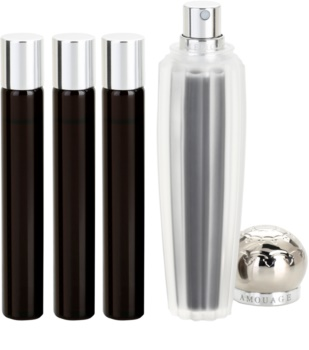 Amouage Memoir eau de parfum pentru femei 4 x 10 ml (1x reincarcabil + 3x rezerva)